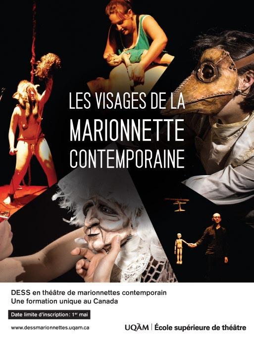 Le DESS en théâtre de marionnettes contemporain recrute !