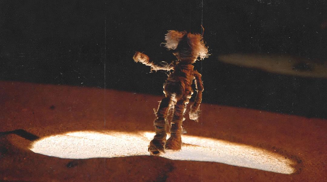 Spectacle de marionnette de Ubus Théâtre nommé Le Périple