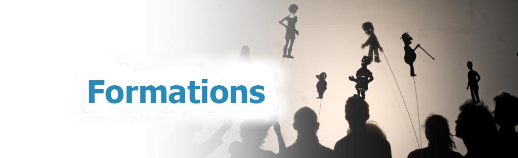 Programme de formations en arts de la marionnette offert par l'AQM et autres organisme culturels