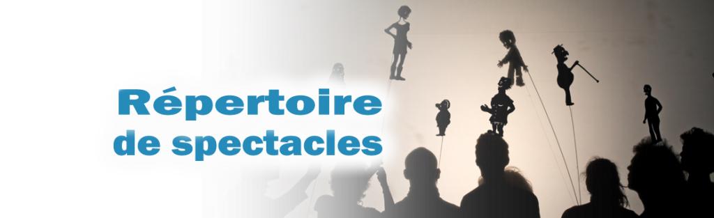 Répetoire des spectacles de marionnettes des compagnies membres de l'AQM disponibles pour la diffusion